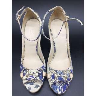 GUCCI open-toe wedges - GUCCI 魚口楔型鞋