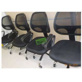 Mesh Clerical Chair - office furniture - Chrome legs