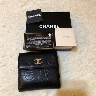 Chanel 山茶花銀包(議價者不回)