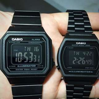 CASIO Couple Watch All Black
