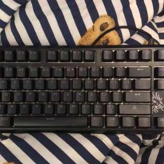 青軸機械鍵盤 有Led lighting