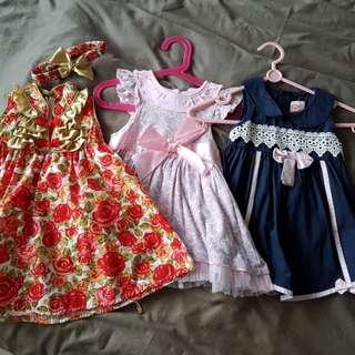 Gal Toddler dresses cny