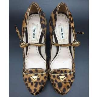 Miu Miu leopard print heels - Miu Miu 豹紋高跟鞋