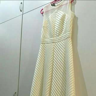 Premium White Long Dress