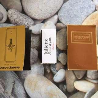Perfume Sample Bundle C