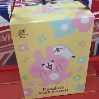 台灣代購 卡娜赫拉 粉紅兔兔 禮盒 森永手提禮盒 牛奶餅乾