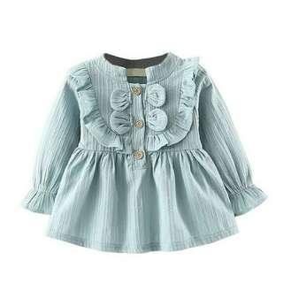 BESSKY Long Sleeve Party Princess Dress