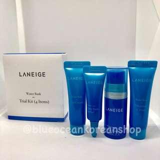 Laneige Water bank Trial Kit - 4pcs/box