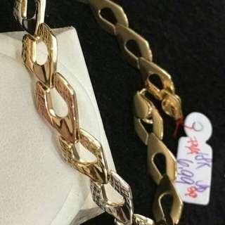 Saudi Gold Bracelets and Bangles 18K