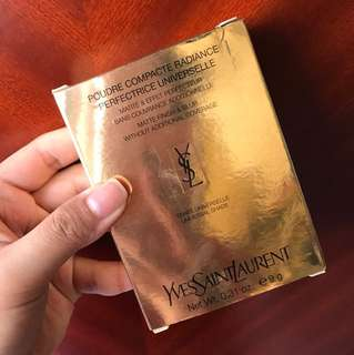 BNIB YSL Poudre Compacte Radiance Perfectrice Universelle