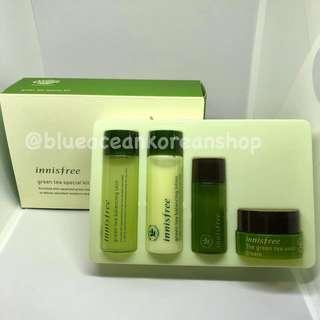 Innisfree Green Tea Special Kit - 4pcs/box
