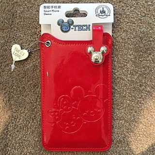 Red Phone Sleeve From Disneyland