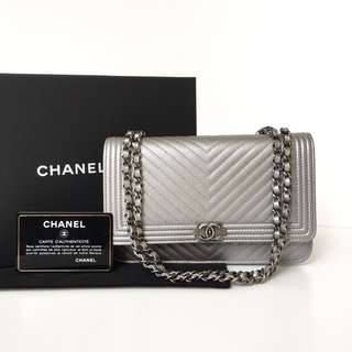 Authentic Chanel Boy WOC