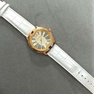 Jam tangan / arloji carti3r white croco (no battery)