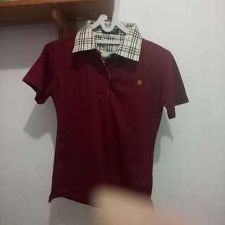 Kaos Berkerah