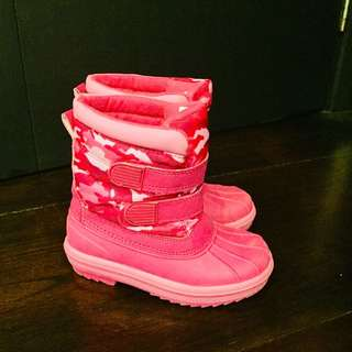 Girls winter snow boots - Size 11/12