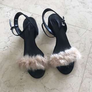 ZARA Fury Block Heel Sandals