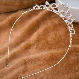 Princess Rhinestone Tiara Hairband
