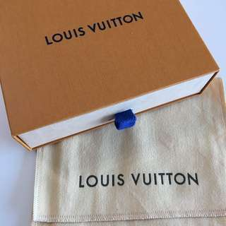 Louis Vuitton wallet box and Dustbag LV 銀包盒及塵袋