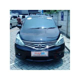 2015 Grand Livina XV 1.5 MT Hitam Metalik