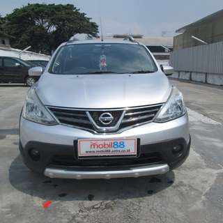 2014 Grand Livina XV 1.5 X-Gear	MT Silver Metalik