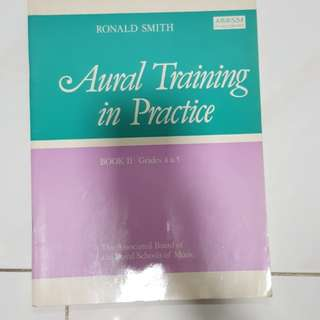 Aural Training in practice piano book