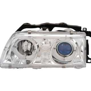 New One Pair Honda 88-89 Civic CRX Dual Halo Projector Headlight Lamp from Japan