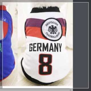Dog Clothes - World Cup : Germany (Size XL)