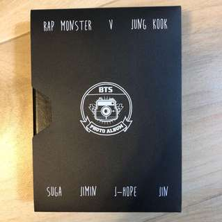 BTS Photo Album 連金泰亨小卡