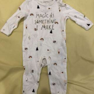Cotton On Sleepsuit *free Mamy poko diaper*