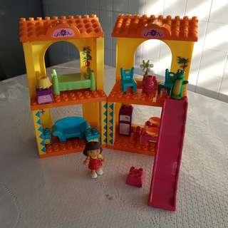 Dora 2 storey doll house