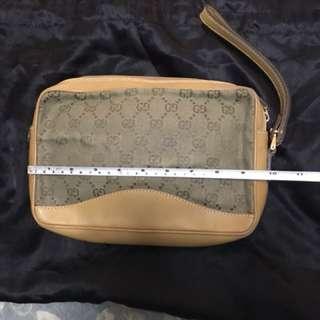 Authentic Vintage Gucci Clutch Bag