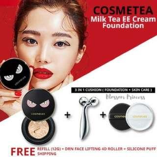 Cosmetea Milk Tea EE Cream Foundation Pact