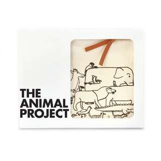 Canvas Pouch - The Animals Exodus ( The Animal Project )