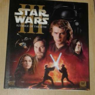 Star wars 3 VCD