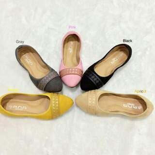 flat ballet doll shoes
