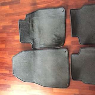 carpet for saab 9-3 /custom fit (grey)