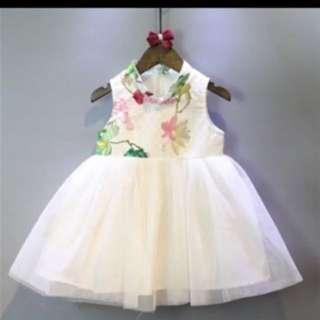 Promotion Chinese New Year flora tutu dress