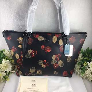 Coach Floral Tote