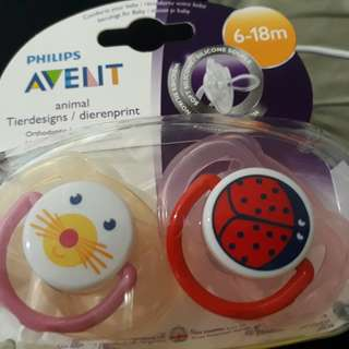 Avent pacifier 12 to 18 months