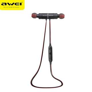 Awei AK8 Bluetooth Wireless Magnet Stereo Headset Earpiece Headphone