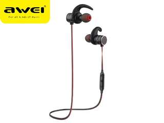 Awei AK9 Bluetooth Wireless Magnet Stereo Headset Earpiece Headphone