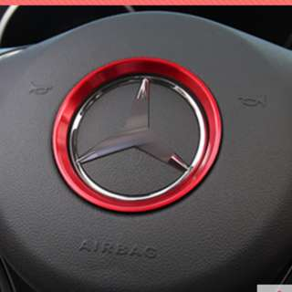 Mercedes-Benz Steering Wheel Logo Trim