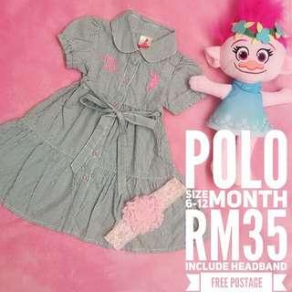 Polo Baby Dress
