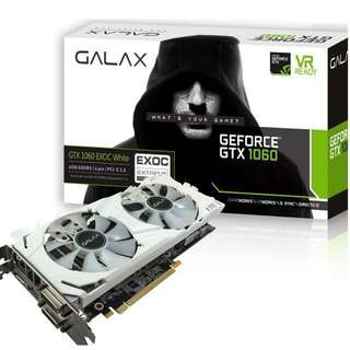 GALAX EXOC BLACK/WHITE GTX 1060 6GB