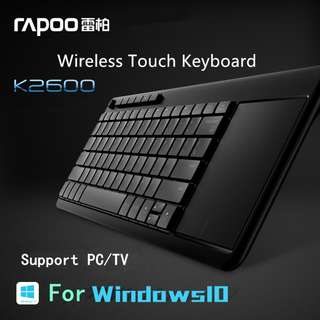 K2600 Wireless Touch Pad + Keyboard 2合1無線鍵盤Touch Pad