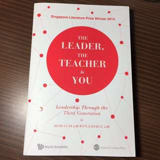 The leader, the teacher & you storybook (the leader the teacher and you)