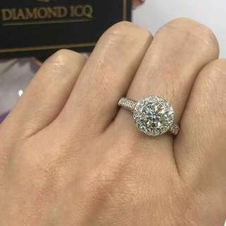 💥閃令令2.5卡鑽石現貨 💍新年必備️ 獎勵下自己✔ 🌸🌸GiA證書2.51卡 H色 SI1 3EX NON鑽石