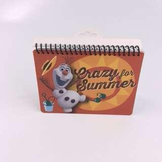 Frozen Mattel Disney Autograph Book