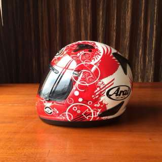 Arai Astro IQ Fiction Red Size L not agv shoei nolan xlite hjc